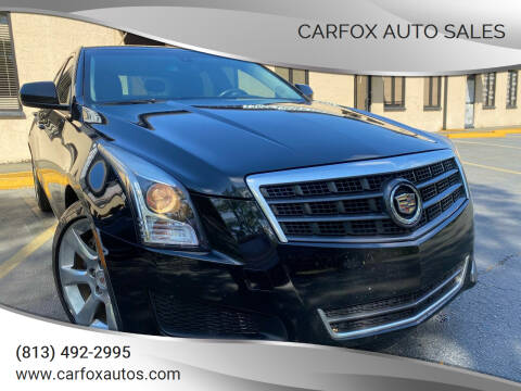 2014 Cadillac ATS for sale at Carfox Auto Sales in Tampa FL
