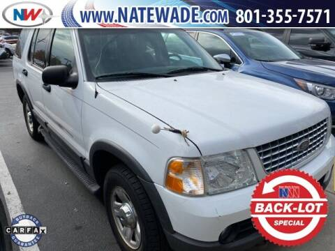 2003 Ford Explorer for sale at NATE WADE SUBARU in Salt Lake City UT