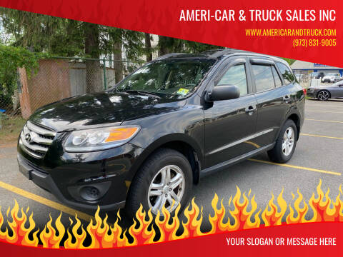 2012 Hyundai Santa Fe for sale at AMERI-CAR & TRUCK SALES INC in Haskell NJ