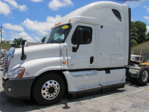 2012 Freightliner Cascadia for sale at TROPICAL MOTOR CARS INC in Miami FL