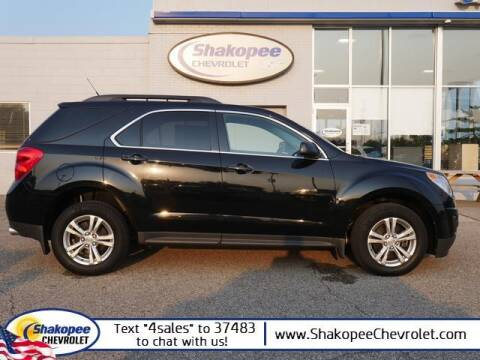 2012 Chevrolet Equinox for sale at SHAKOPEE CHEVROLET in Shakopee MN