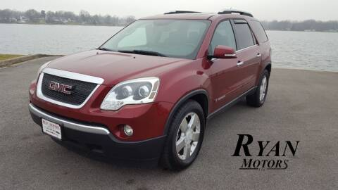 2007 GMC Acadia for sale at Ryan Motors LLC in Warsaw IN