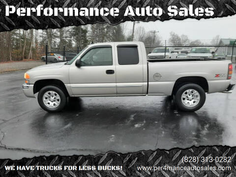 2006 GMC Sierra 1500 for sale at Performance Auto Sales in Hickory NC