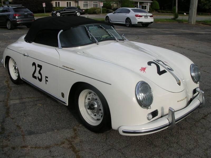 1962 Porsche 356 Speedster for sale at South Atlanta Motorsports in Mcdonough GA
