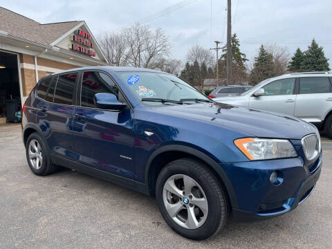 2012 BMW X3 for sale at A 1 Motors in Monroe MI