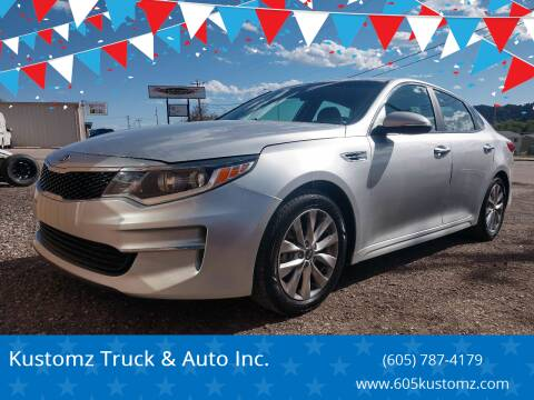 2016 Kia Optima for sale at Kustomz Truck & Auto Inc. in Rapid City SD