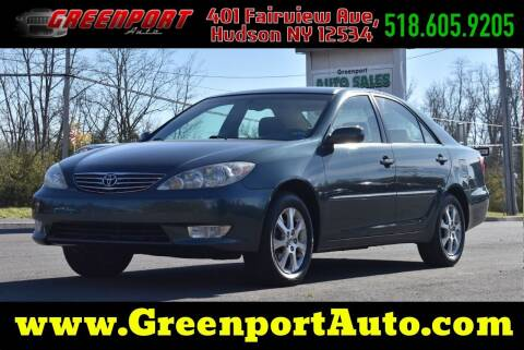 2005 Toyota Camry for sale at GREENPORT AUTO in Hudson NY