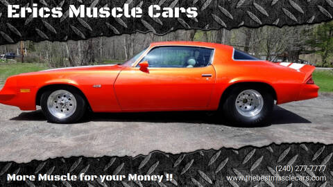 1978 Chevrolet Camaro for sale at Erics Muscle Cars in Clarksburg MD