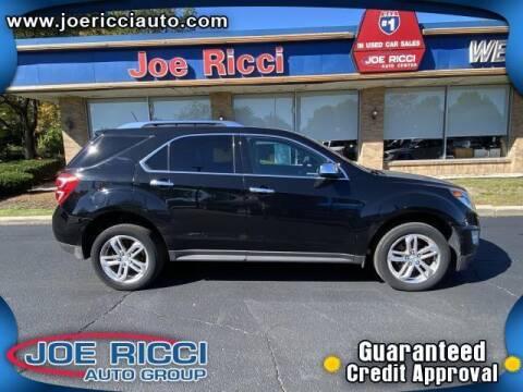2017 Chevrolet Equinox for sale at JOE RICCI AUTOMOTIVE in Clinton Township MI