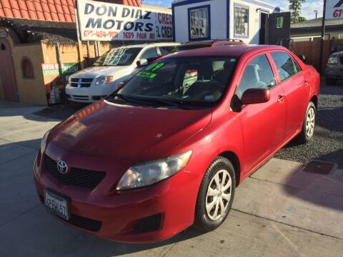 2009 Toyota Corolla for sale at DON DIAZ MOTORS in San Diego CA