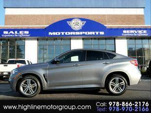 2018 BMW X6 for sale at Highline Group Motorsports in Lowell MA