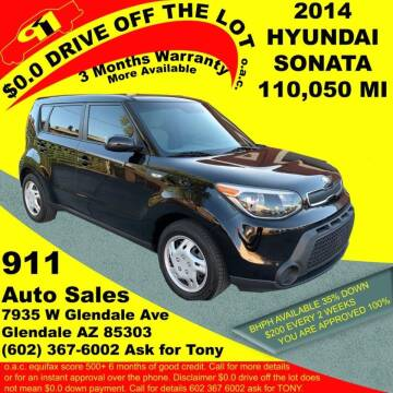 2014 Kia Soul for sale at 911 AUTO SALES LLC in Glendale AZ