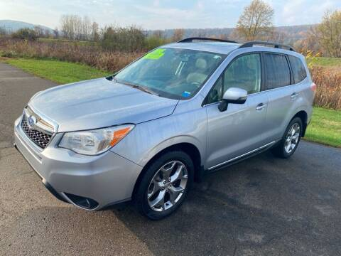 2015 Subaru Forester for sale at Hillside Motors in Campbell NY