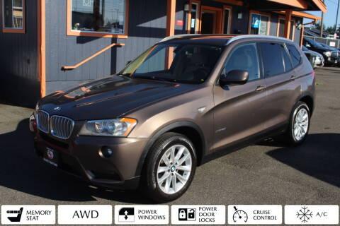 2013 BMW X3 for sale at Sabeti Motors in Tacoma WA