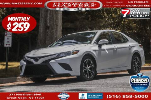 2019 Toyota Camry for sale at European Masters in Great Neck NY
