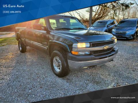 2001 Chevrolet Silverado 2500HD for sale at US-Euro Auto in Burton OH