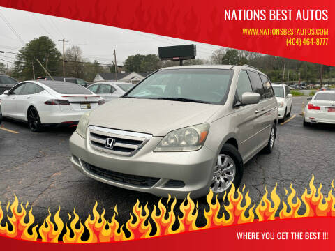 2005 Honda Odyssey for sale at Nations Best Autos in Decatur GA