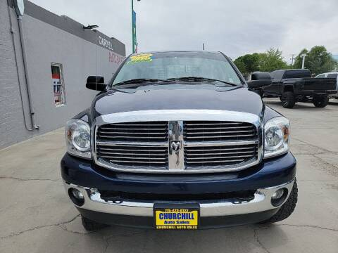 2009 Dodge Ram Pickup 2500 for sale at CHURCHILL AUTO SALES in Fallon NV