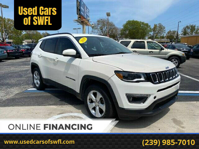 2018 Jeep Compass for sale at Used Cars of SWFL in Fort Myers FL