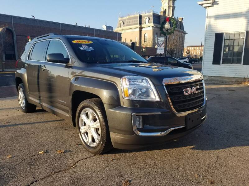 2017 GMC Terrain for sale at BELLEFONTAINE MOTOR SALES in Bellefontaine OH