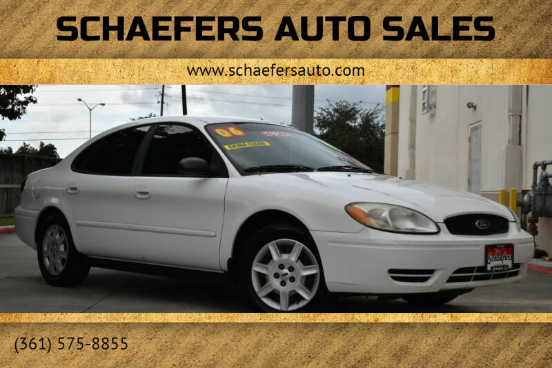 2006 Ford Taurus for sale at Schaefers Auto Sales in Victoria TX