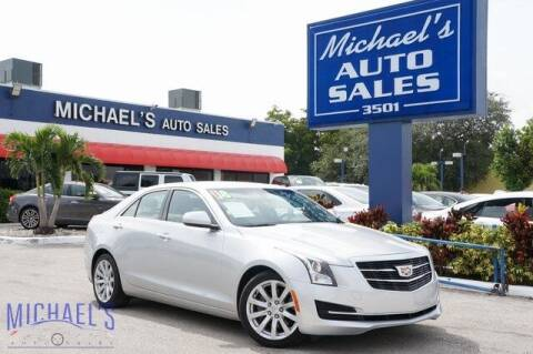 2018 Cadillac ATS for sale at Michael's Auto Sales Corp in Hollywood FL