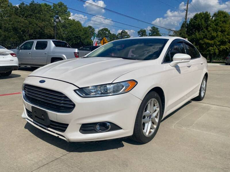 2015 Ford Fusion for sale at Auto Land Of Texas in Cypress TX