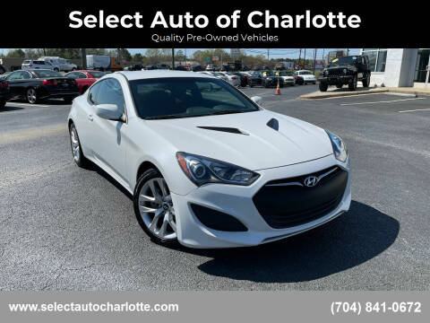 2013 Hyundai Genesis Coupe for sale at Select Auto of Charlotte in Matthews NC