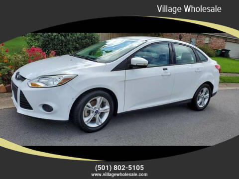 2014 Ford Focus for sale at Village Wholesale in Hot Springs Village AR