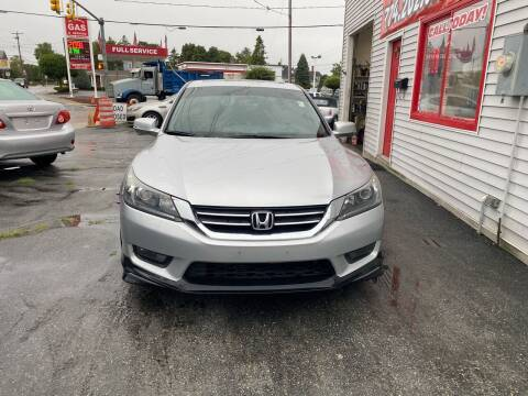 2015 Honda Accord for sale at Better Auto in South Darthmouth MA
