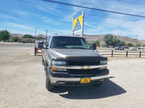 2002 Chevrolet Silverado 2500HD for sale at Auto Depot in Carson City NV