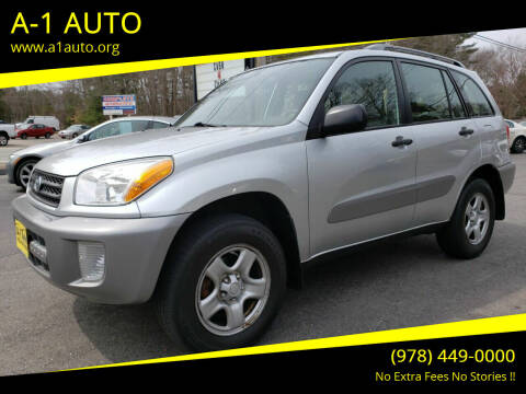 2002 Toyota RAV4 for sale at A-1 Auto in Pepperell MA