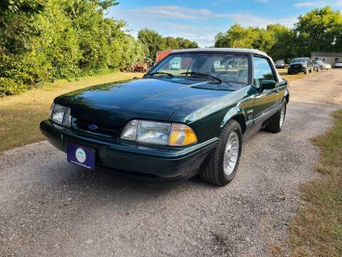 1990 Ford Mustang for sale at The Car Shed in Burleson TX