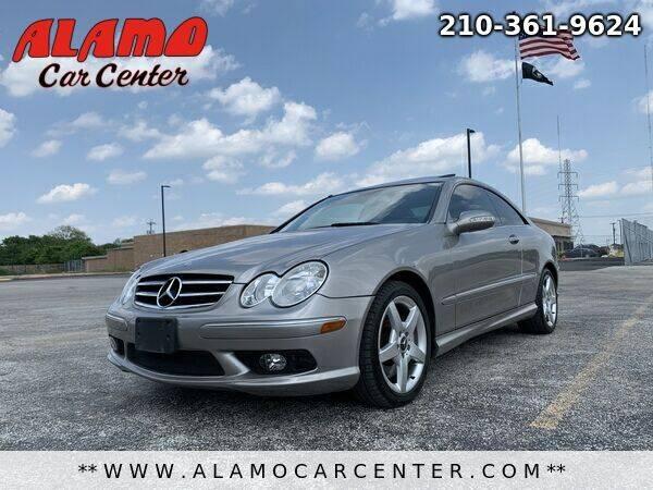 2005 Mercedes-Benz CLK for sale at Alamo Car Center in San Antonio TX