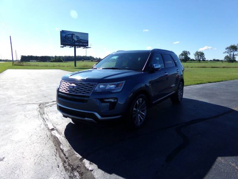 2018 Ford Explorer for sale at Westpark Auto in Lagrange IN