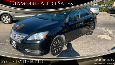 2013 Nissan Sentra for sale at Diamond Auto Sales in Milwaukee WI