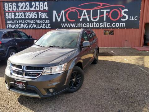 2016 Dodge Journey for sale at MC Autos LLC in Pharr TX