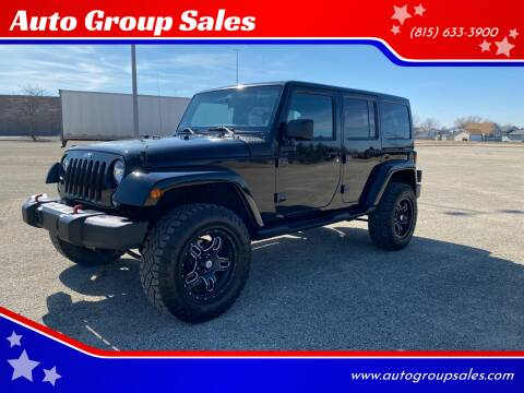 2012 Jeep Wrangler Unlimited for sale at Auto Group Sales in Roscoe IL