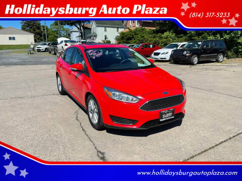 2016 Ford Focus for sale at Hollidaysburg Auto Plaza in Hollidaysburg PA