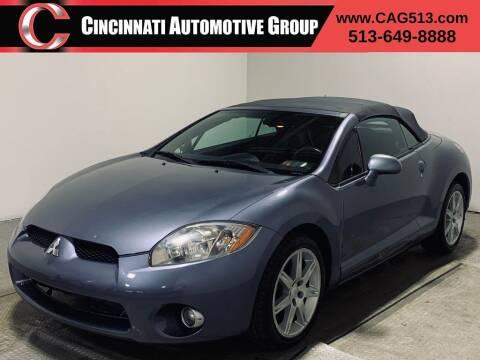 2007 Mitsubishi Eclipse Spyder for sale at Cincinnati Automotive Group in Lebanon OH