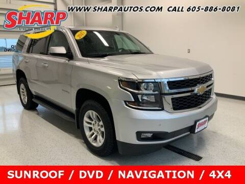 2017 Chevrolet Tahoe for sale at Sharp Automotive in Watertown SD