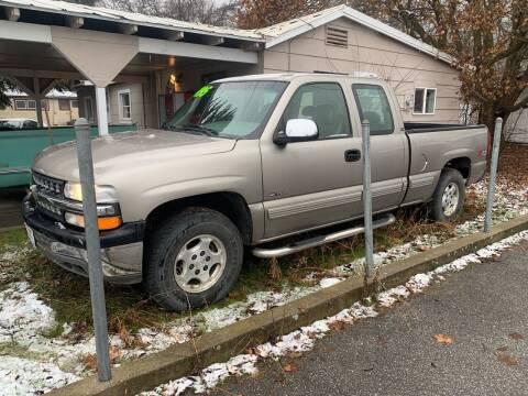 2000 Chevrolet Silverado 1500 for sale at Harpers Auto Sales in Kettle Falls WA