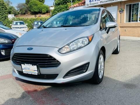 2014 Ford Fiesta for sale at MotorMax in Lemon Grove CA