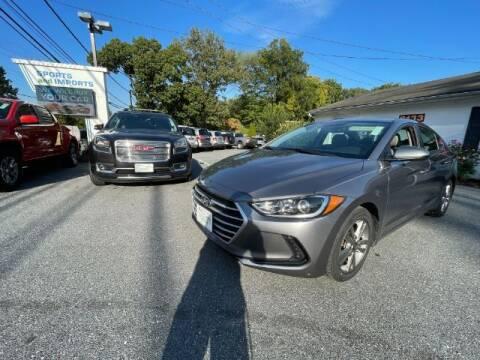 2018 Hyundai Elantra for sale at Sports & Imports in Pasadena MD