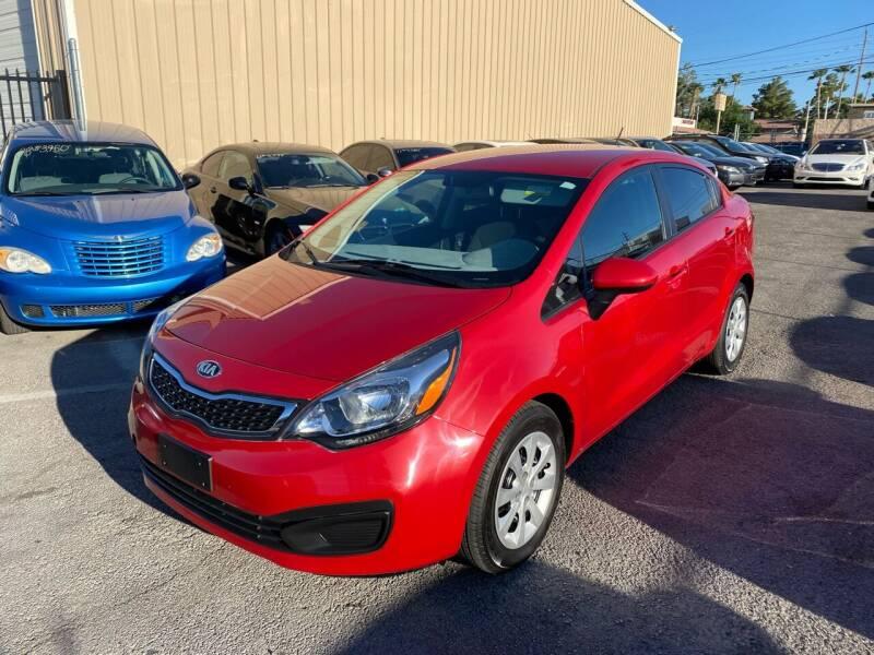 2013 Kia Rio for sale at CONTRACT AUTOMOTIVE in Las Vegas NV