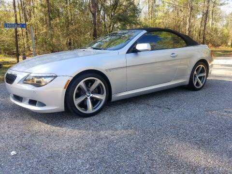 2009 BMW 6 Series for sale at J & J Auto Brokers in Slidell LA
