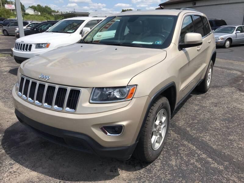 2014 Jeep Grand Cherokee for sale at Rinaldi Auto Sales Inc in Taylor PA