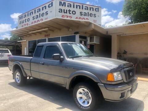 2005 Ford Ranger for sale at Mainland Auto Sales Inc in Daytona Beach FL