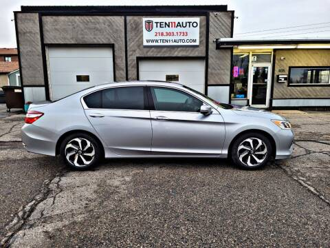 2016 Honda Accord for sale at Ten 11 Auto LLC in Dilworth MN
