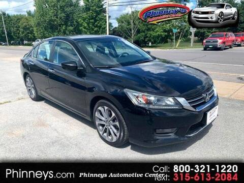 2015 Honda Accord for sale at Phinney's Automotive Center in Clayton NY